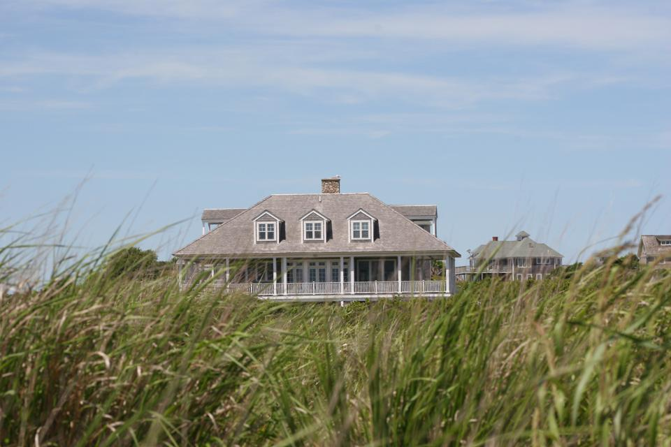 A luxury home in The Hamptons, where buyers flock to escape the coronavirus