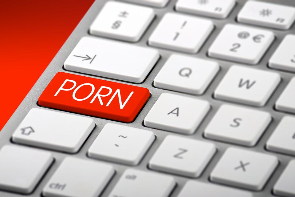 Keyboard with a Porn Key