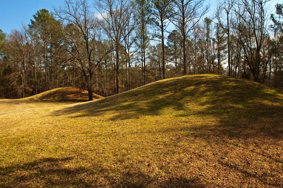 Mississippi, Natchez Trace Parkway, Bynum Mounds