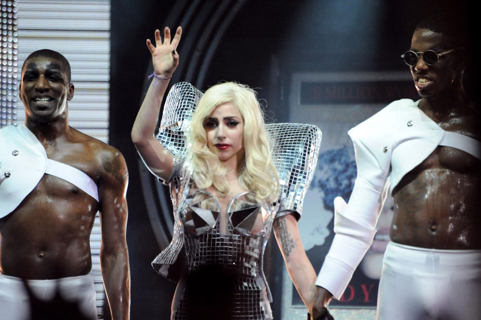 Lady GaGa In Concert At Nokia Theatre L.A. Live
