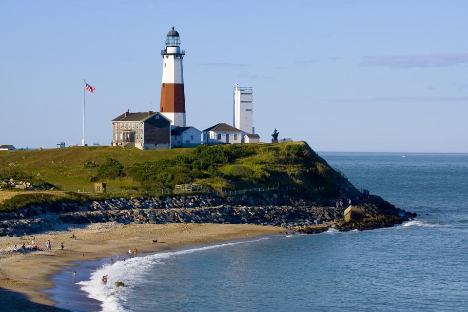 Lighthouse at Montauk Point.