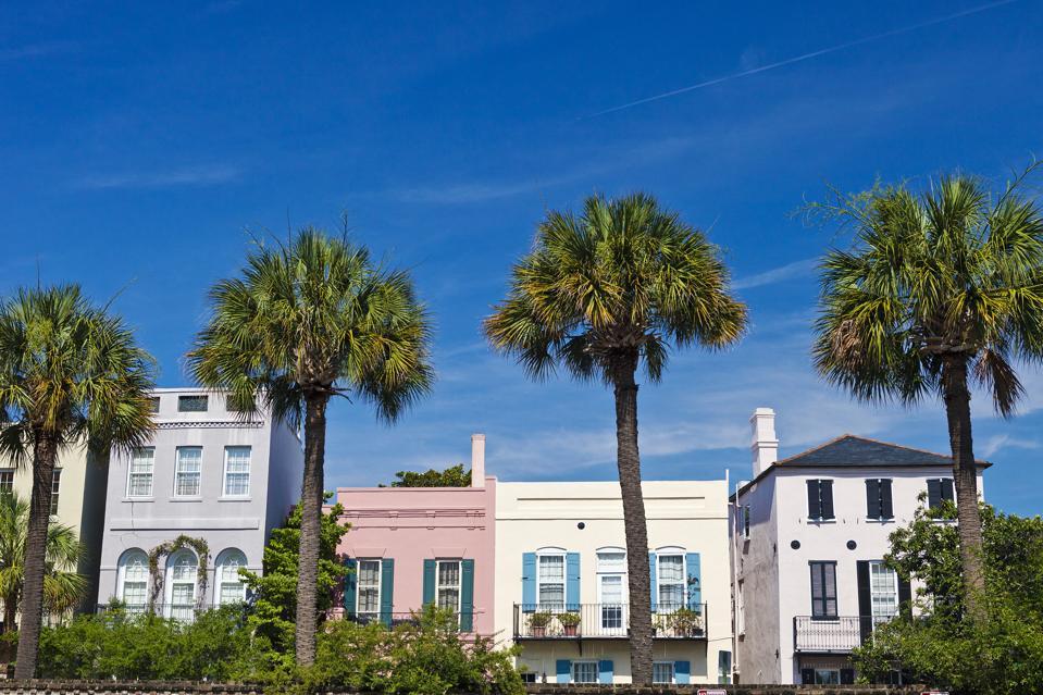 Charleston, South Carolina Colorful Homes