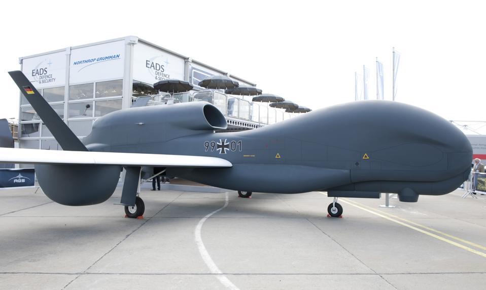 Northrop Grumman RQ-4 Global Hawk Drone...