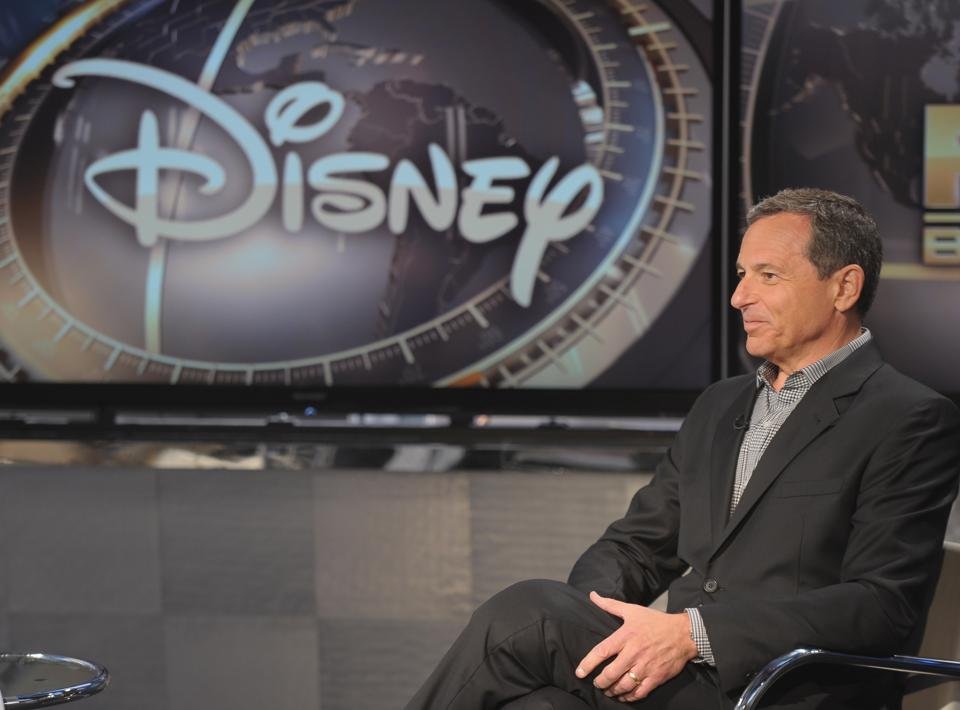 Disney CEO Robert Iger visits FOX Business Network's 'Markets Now' at FOX Studios on September 24, 2013 in New York City. (Photo by Michael Loccisano/Getty Images)