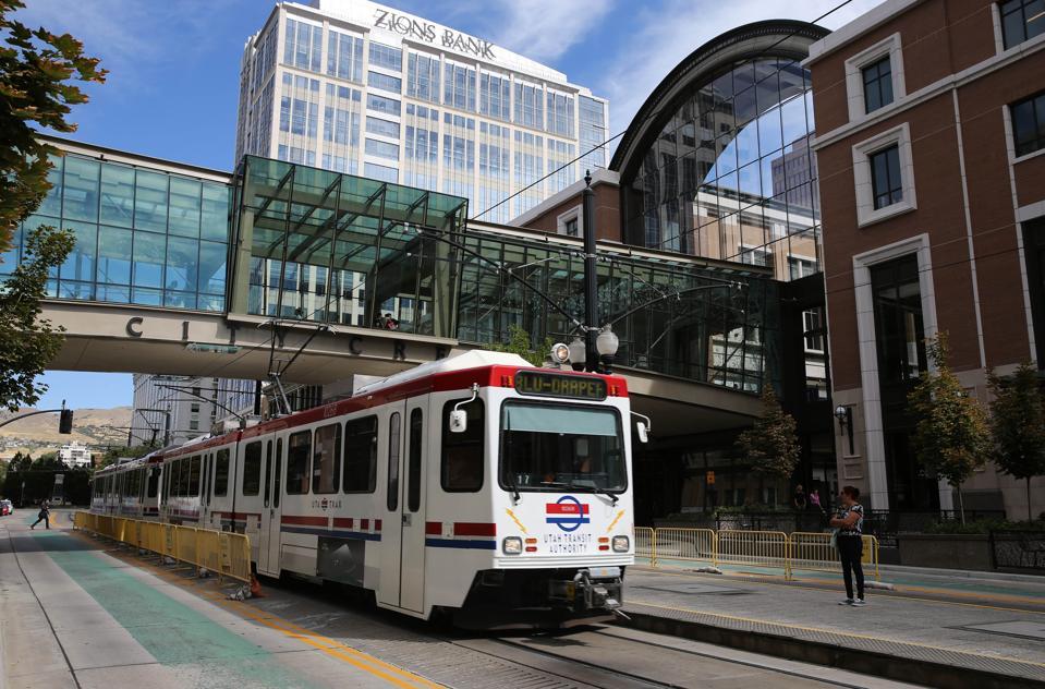 Utah transit system