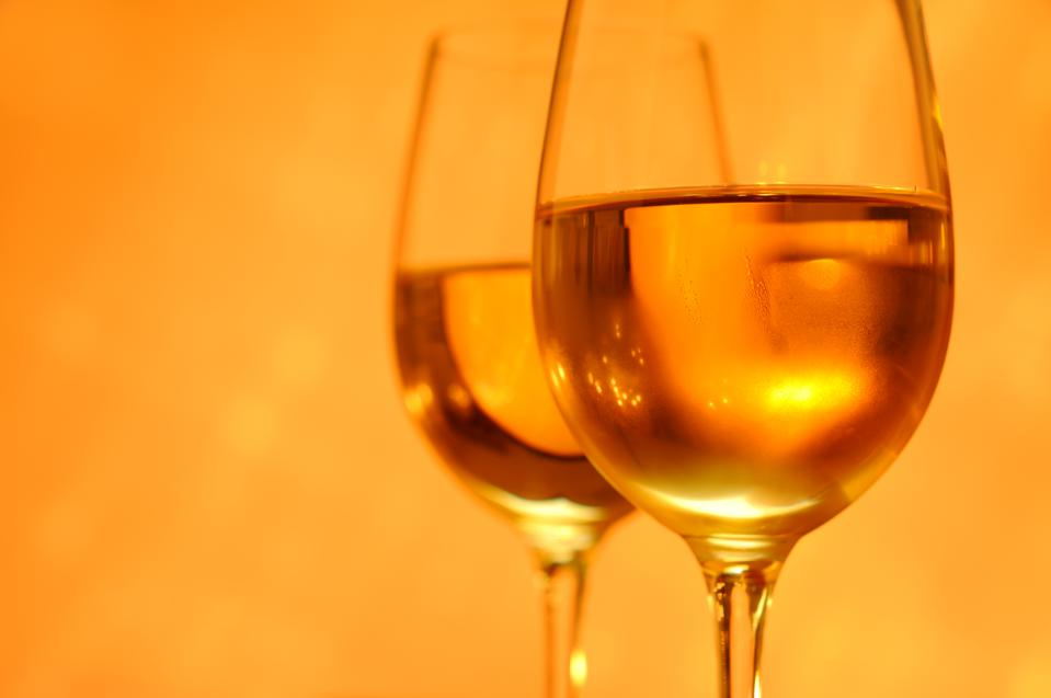 Wine with an Orange Glow