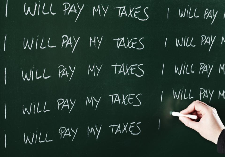 Taxes evasion