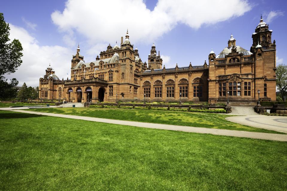 Kelvingrove museum, Glasgow, Scotland