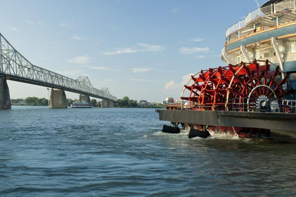 Try a history-rich paddle boat cruise out of St. Louis, or any number of other steamboat and cruise ship tours.