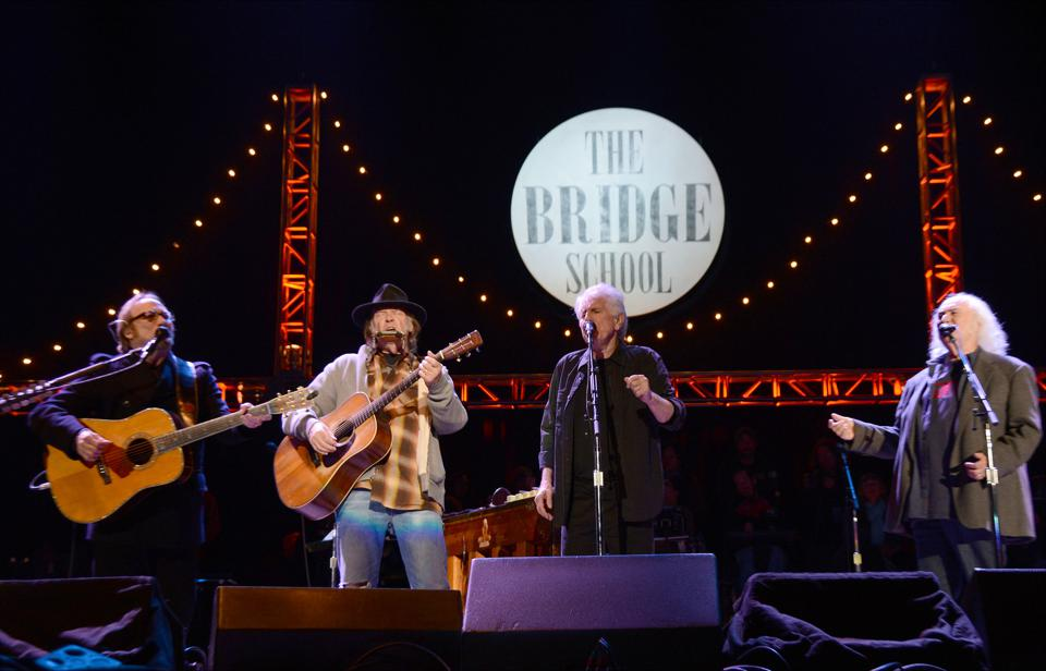 How Crosby Stills Nash Young Helped Turn Rock Into A Big Business
