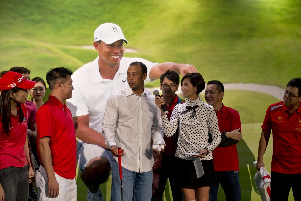 This Week In Golf Biz: Tiger's New Partnership In China, Hall Of Fame Change And A Golf Penny Loafer