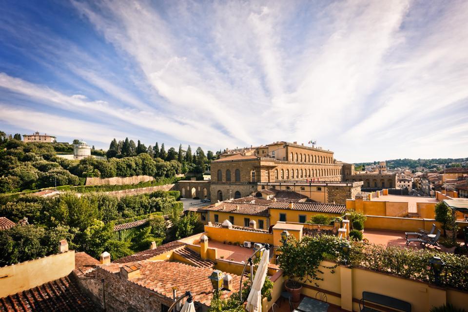 ארמון פיטי עם גני בובולי בפירנצה, אדריכלות רנסנס איטלקית