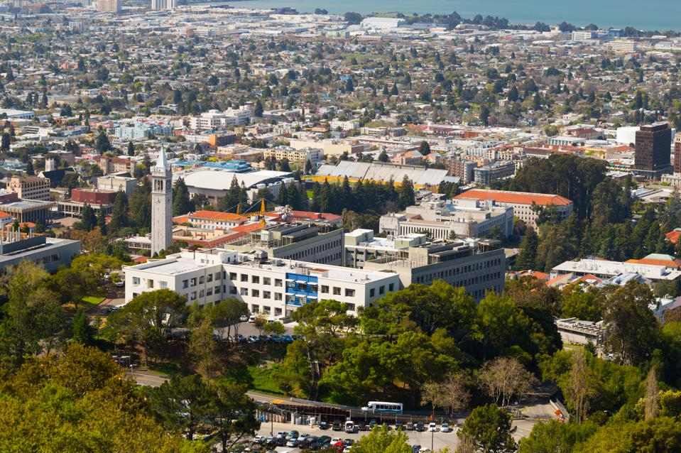 University of California, Berkeley Campus Aerial