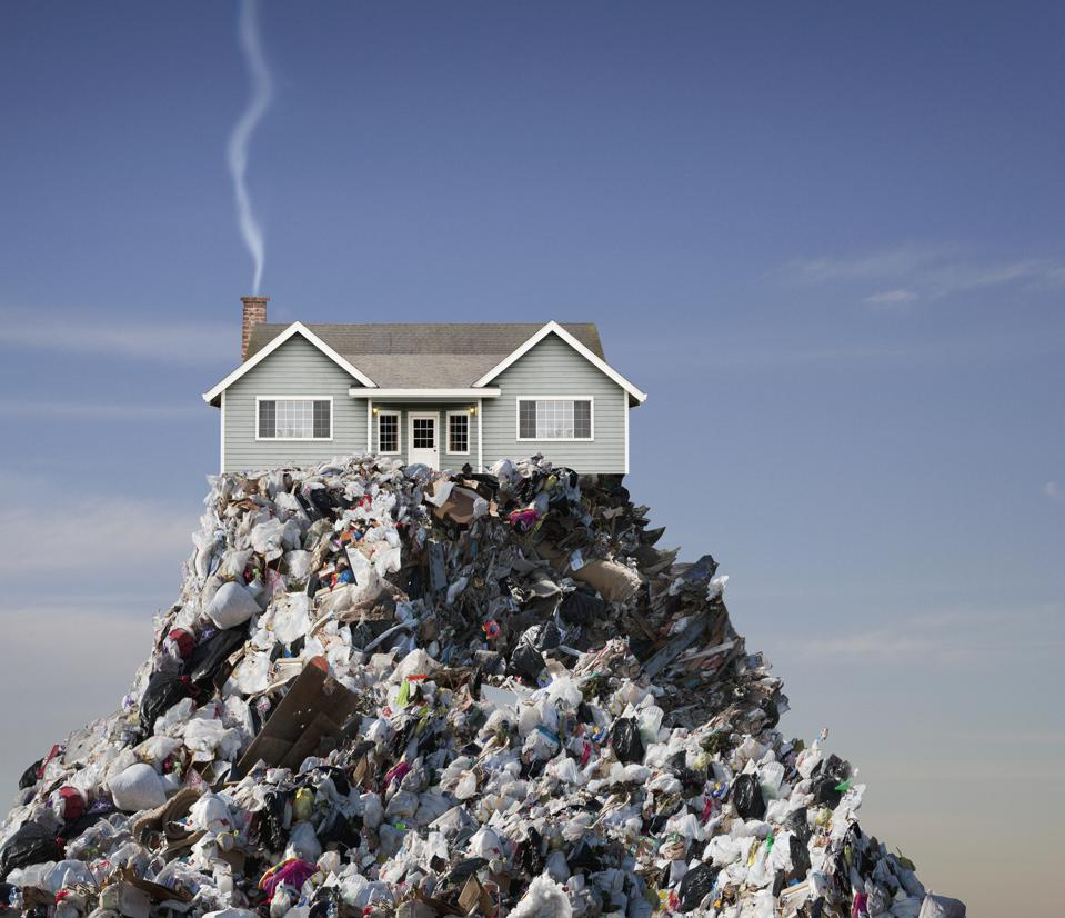 House built on landfill