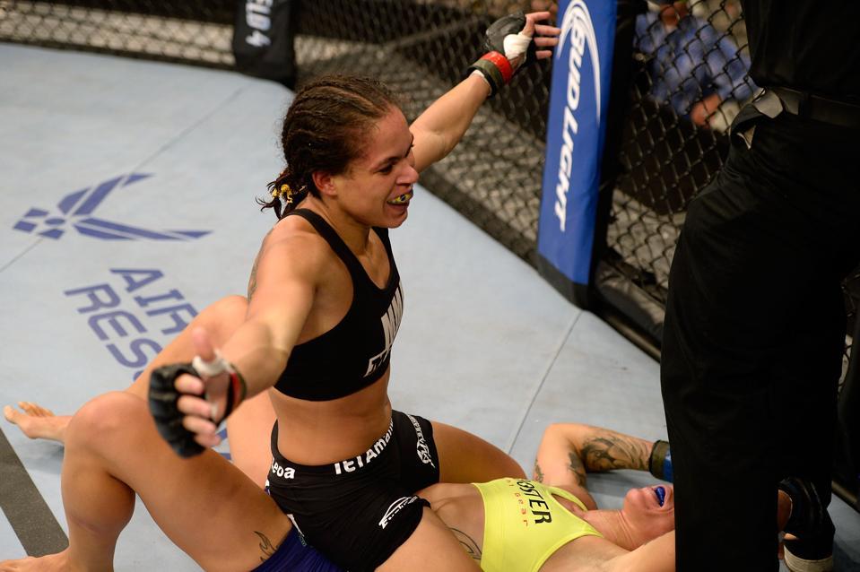 UFC 245 Preview And Predictions: Can Germaine De Randamie End The Reign Of Amanda Nunes?