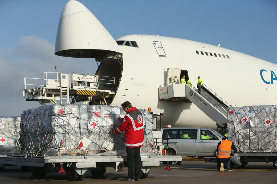 Germany Sends Aid To The Philippines