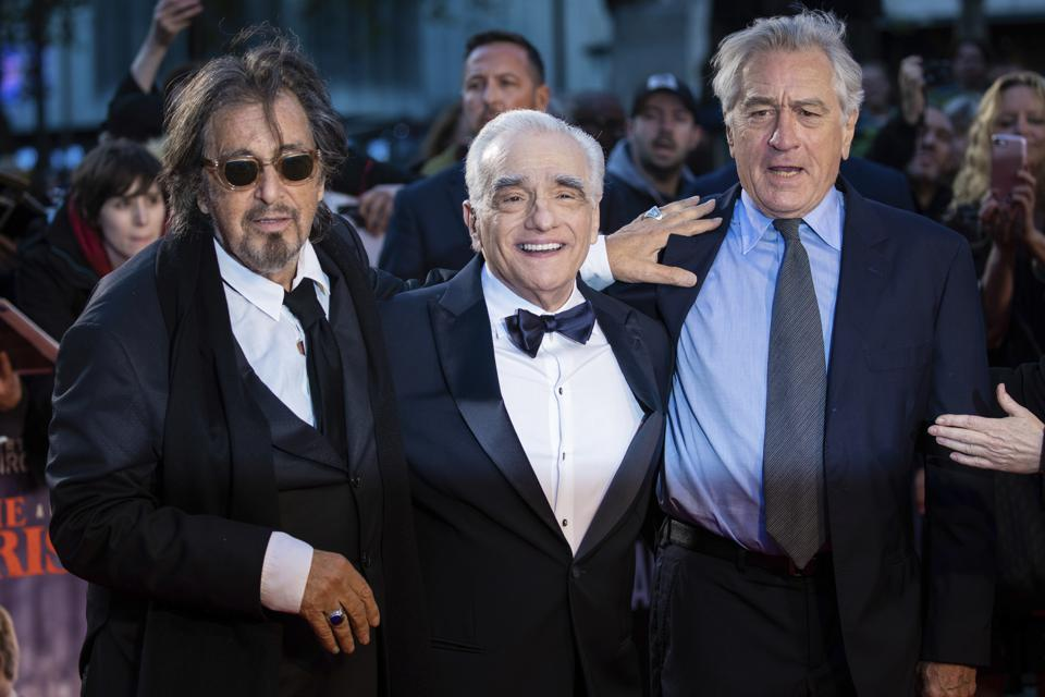 Despite 10 nominations, Martin Scorsese's ″The Irishman″ was shut out at last night's Oscars ceremony