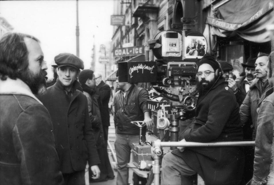 Coppola On The Set Of ″Godfather II'