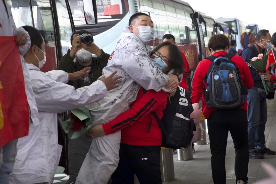 APTOPIX Virus Outbreak China Lockdown Lifted