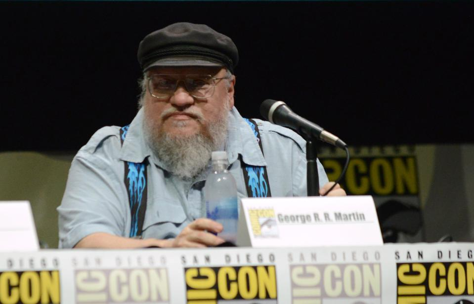 George R.R. Martin Is Watching His Story Slip Away