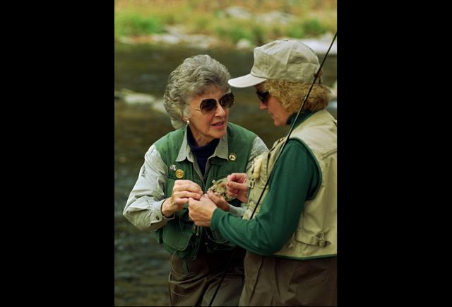 Joan Wulff Honored By The Bonefish And Tarpon Trust