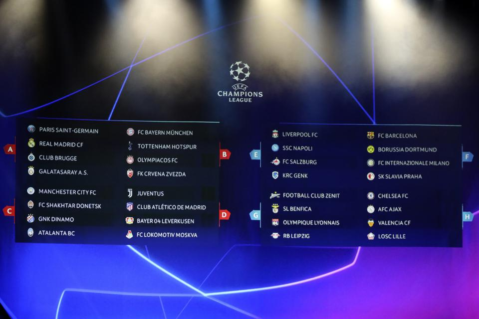Auslosung Uefa Champions League