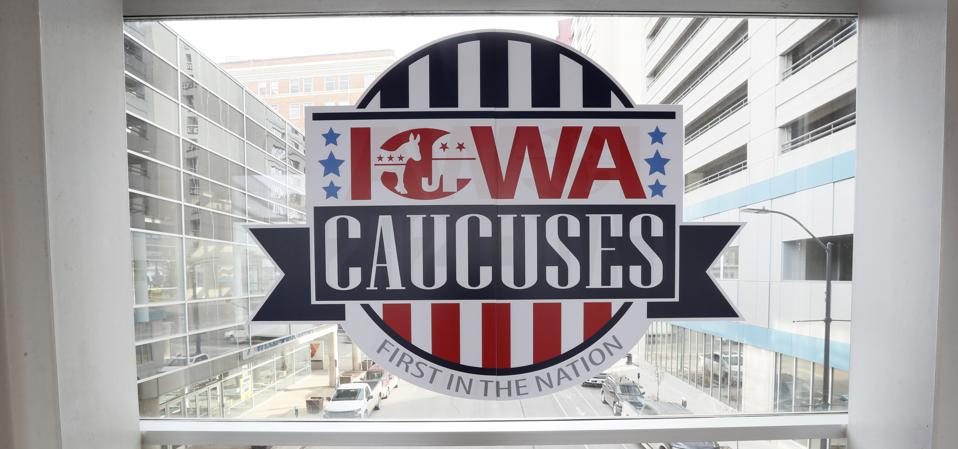 Election 2020 Iowa Caucus
