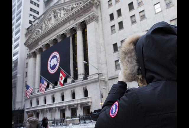 When was canada goose ipo