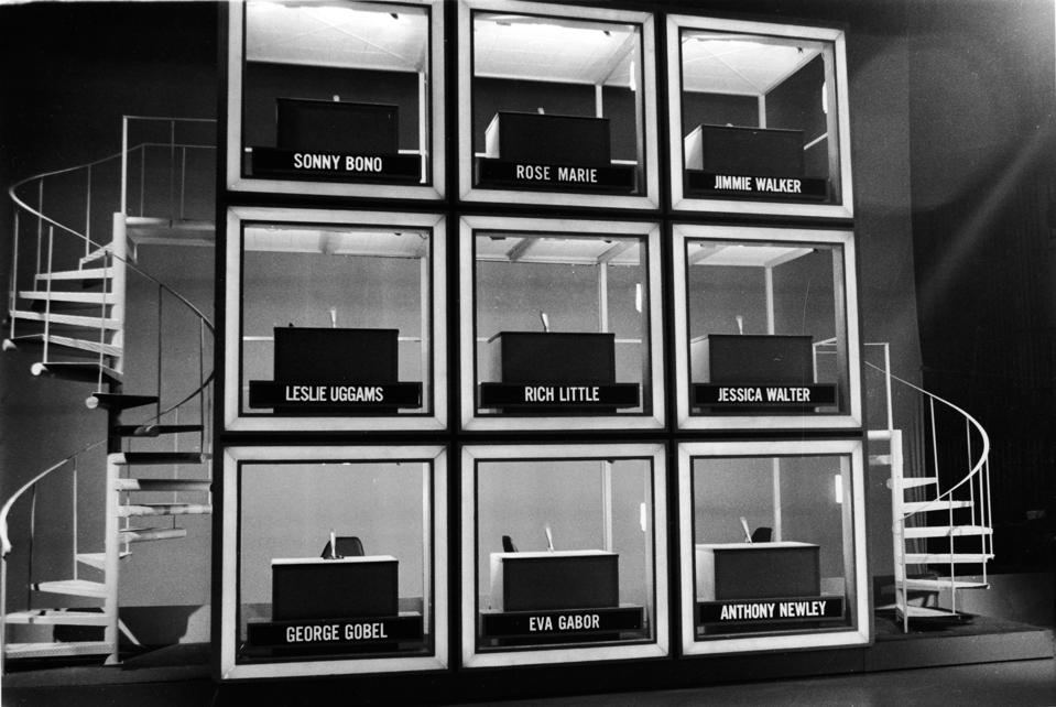 Empty Set Of 'Hollywood Squares'