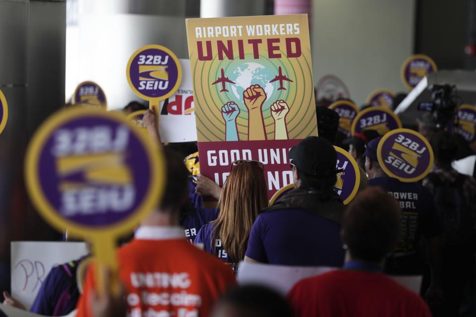 Miami Airport Protest