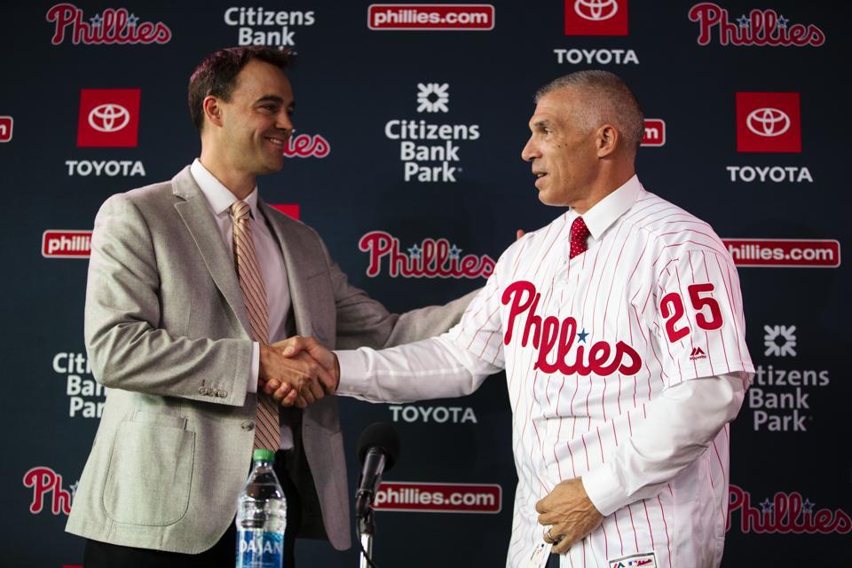 Phillies Girardi Baseball