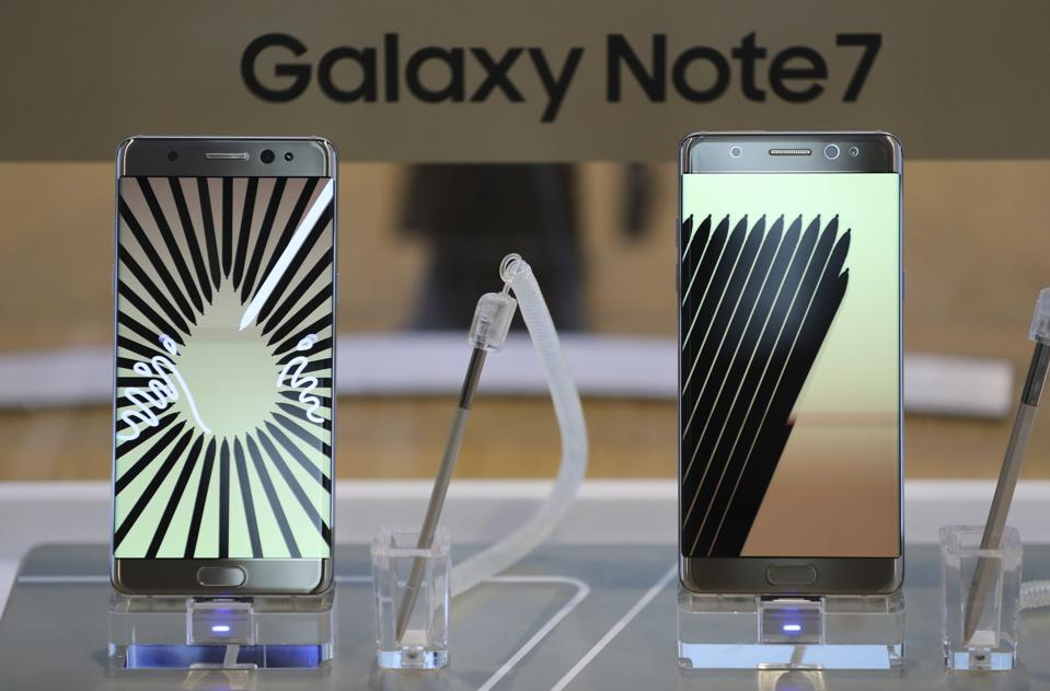 Samsung's Galaxy Note 7 Fiasco Could Be Forgotten In Six Months -- Just In Time For Its Next Flagship Phone