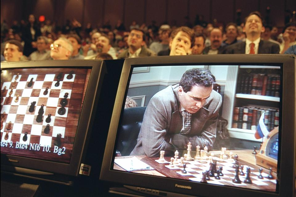 Deep Blue Computer V Garry Kasparov, artificial intelligence, AI, chess