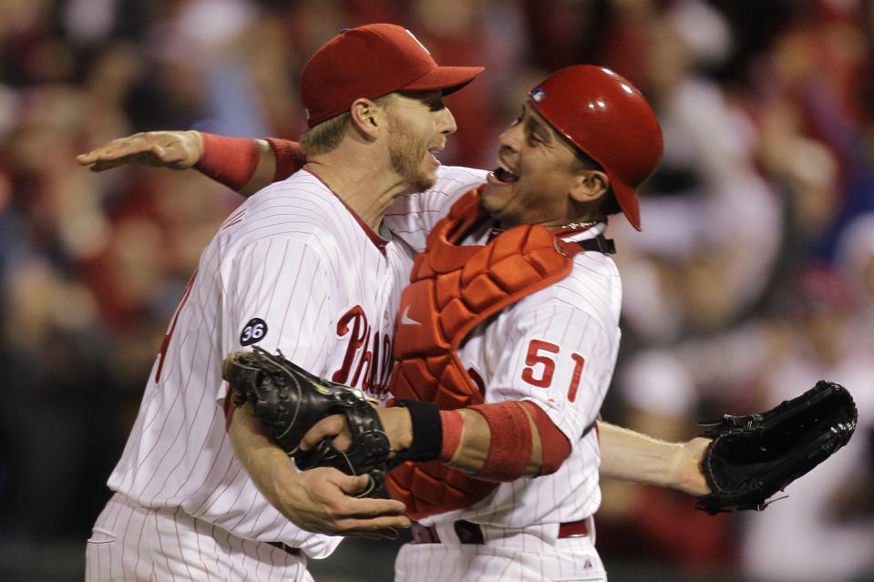APTOPIX NLDS Reds Phillies Baseball