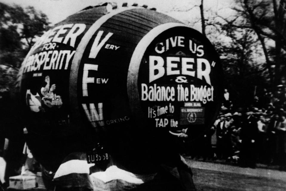 Anti-Prohibition Beer Barrel