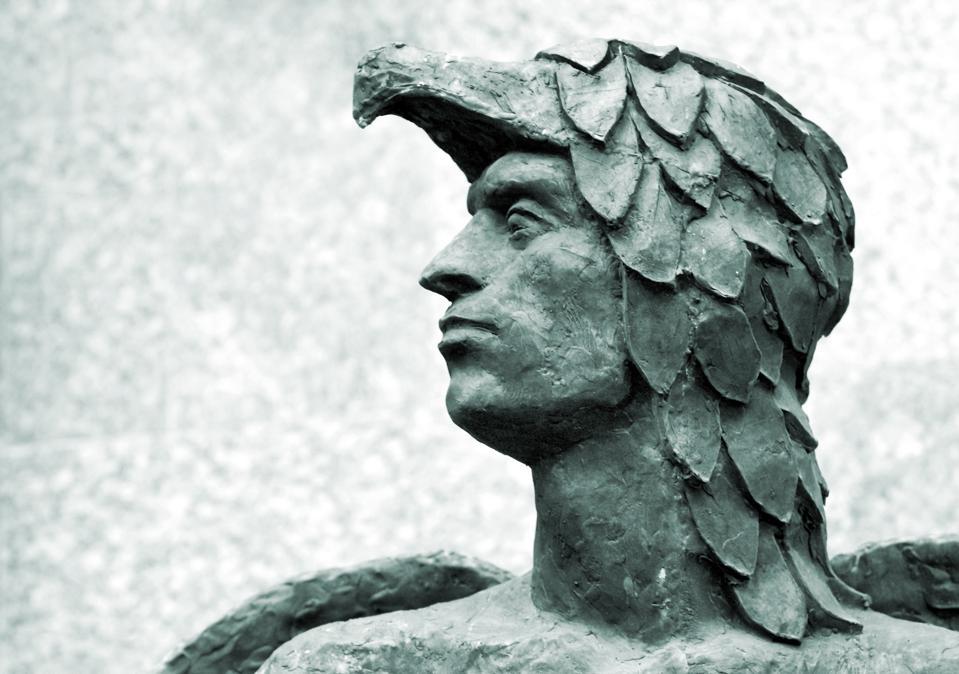 Head of Icarus.