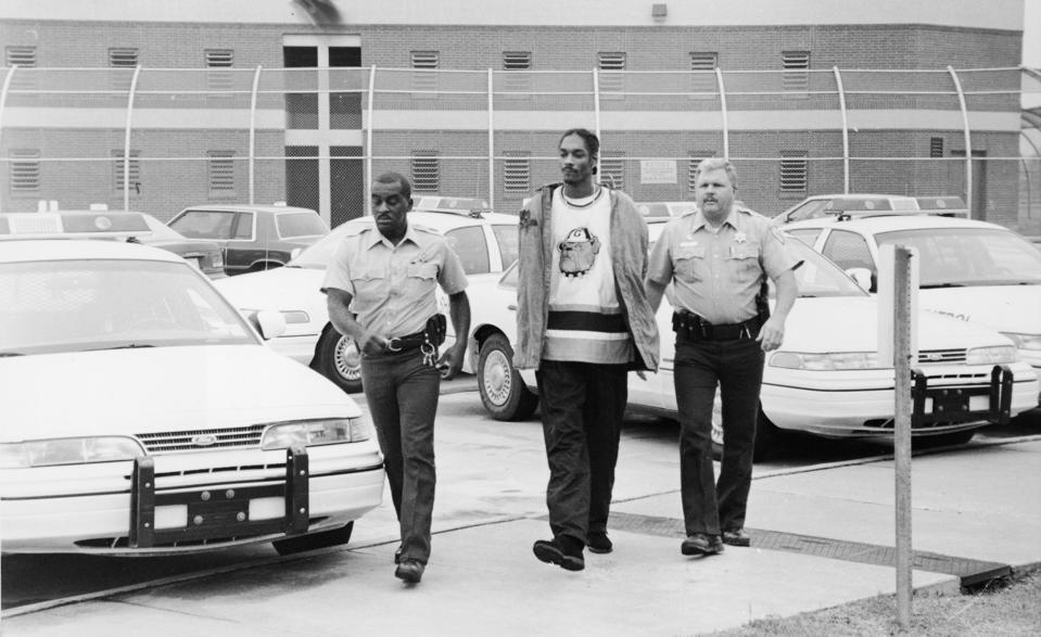 Snoop Doggy Dogg In Police Custody
