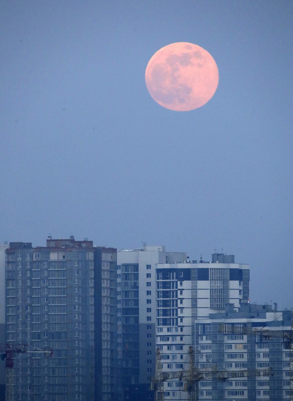 Belarus Full Moon