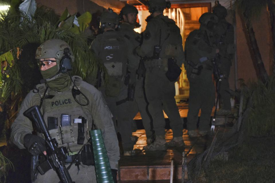 Raids on Mexico's Jalisco New Generation drug cartel by the DEA on March 11th.