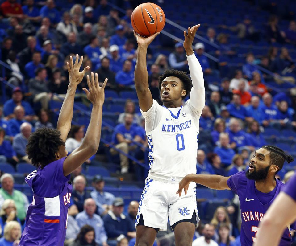 Evansville Stuns Kentucky At Rupp As No 1 Team Loses For