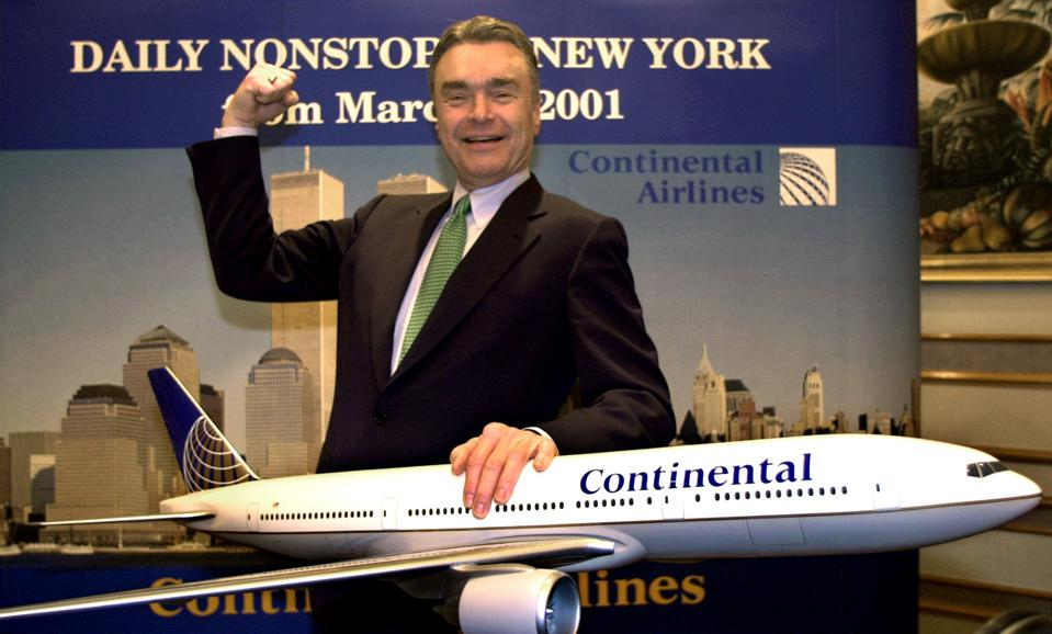 Continental Airlines Gordon Bethune