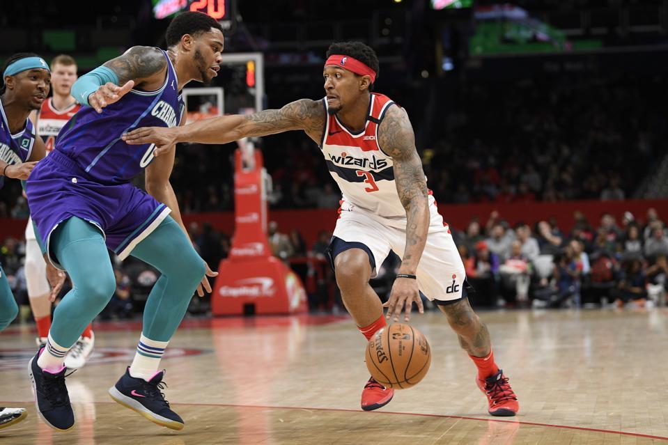 Hornets Wizards Basketball