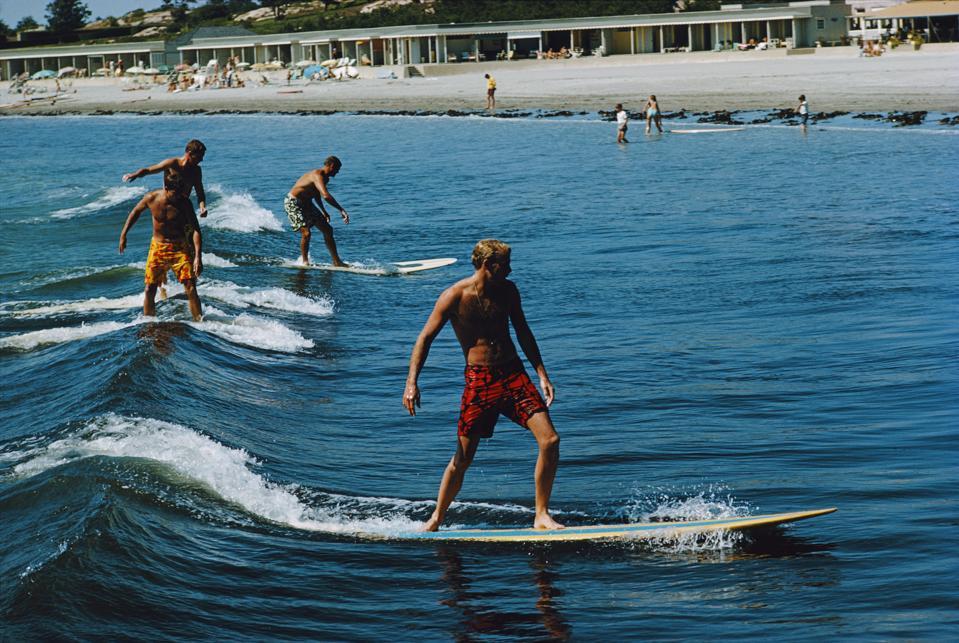 FINENICE Mens Half Swim Trunks Quick Dry Beach Surfing Print Running Swimming 2019