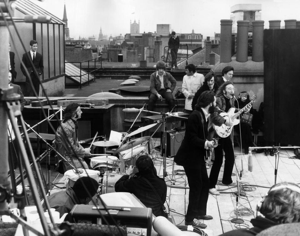 Rooftop Beatles