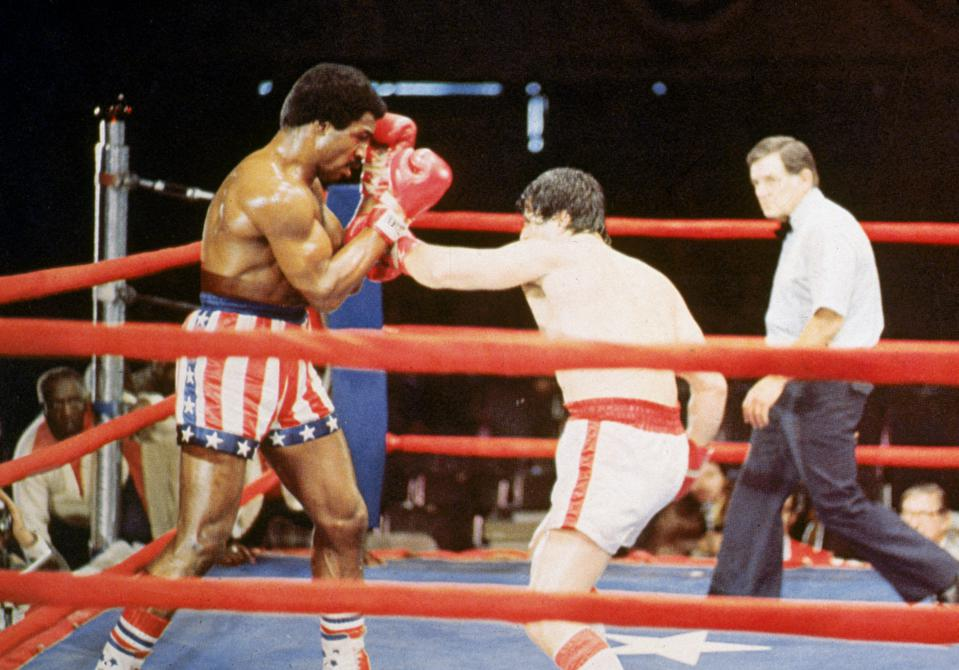 Rocky, Apollo Creed, Sylvester Stallone, Carl Weathers