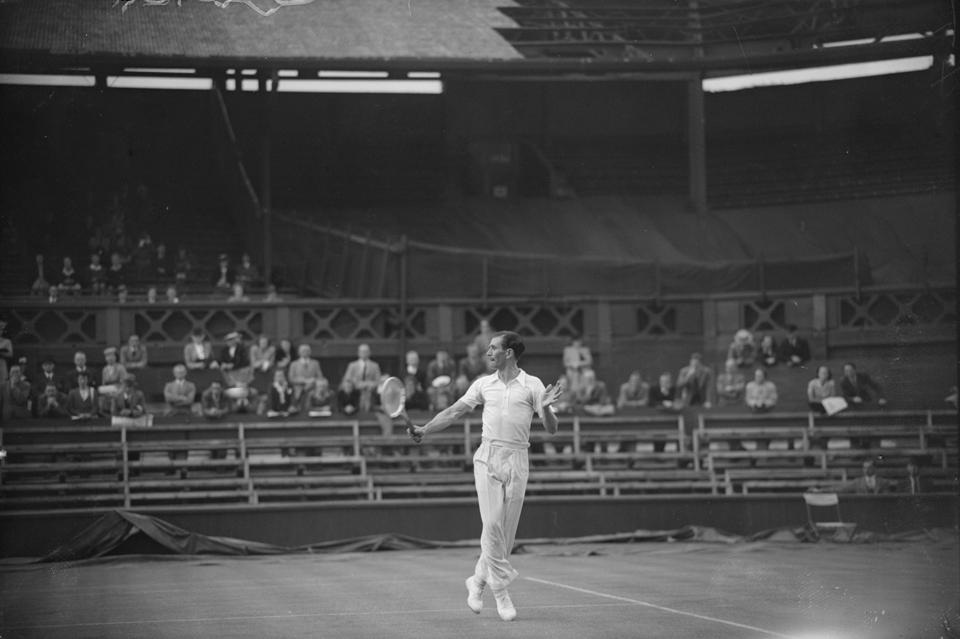 Centre Court in 1946
