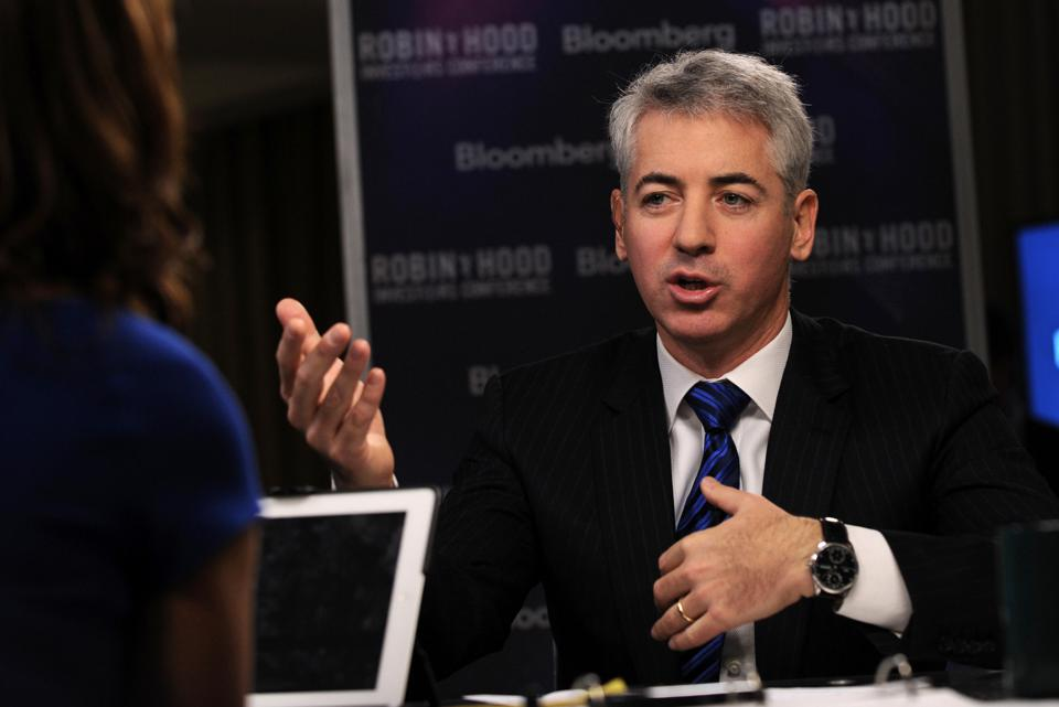 Ackman is calling for a shutdown of the country and a closure of the borders to curb the spread of COVID-19.