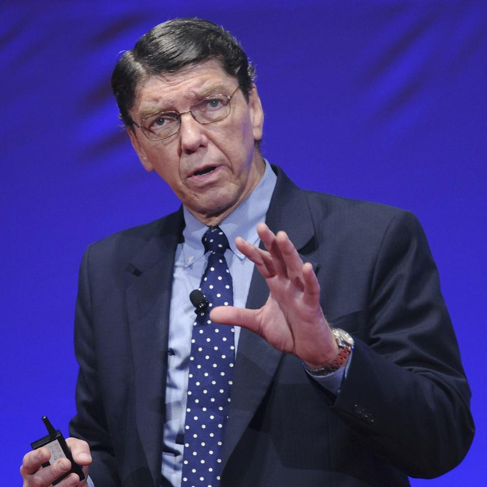 Clayton M. Christensen at World Economic Forum