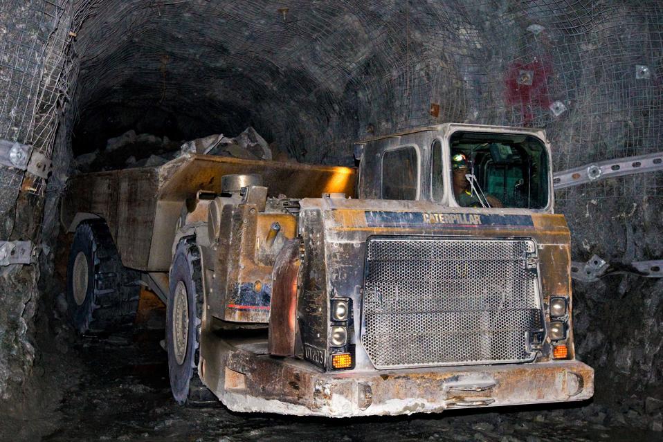 Stillwater platinum mine