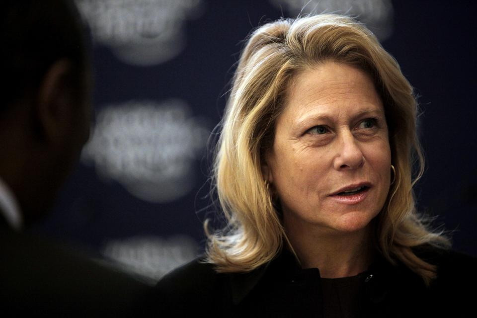 Cynthia Carroll, then CEO of Anglo American PLC.